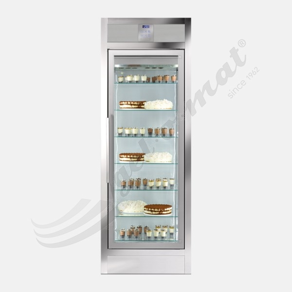 WALL WGL 550 V 2T - Built-In Eisvitrine (Umluft)
