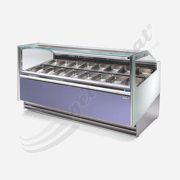 MAGIC 24 Base V2 Eisvitrine